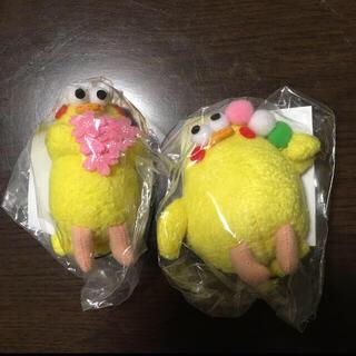 エヌティティドコモ(NTTdocomo)のdocomo ポインコぬいぐるみストラップ(お団子&桜)(ぬいぐるみ)