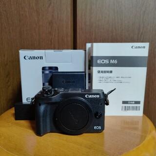 Canon - Canon EOS M6 ボディ ミラーレス一眼カメラ