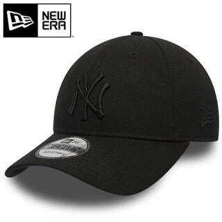 NEW ERA - ニューエラ キャップ NY ヤンキース 黒 オールブラック ブラック