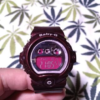 Baby-G - CASIO Baby-G bg-6900 ジーショック ボルドー×シルバー