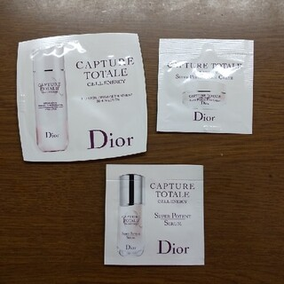 ディオール(Dior)のDior🌸カプチュールトータルセルENGY サンプル 基礎化粧品(サンプル/トライアルキット)
