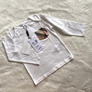 バーバリー(BURBERRY)の新品burberry バーバリー Tシャツ 92cm(Tシャツ/カットソー)