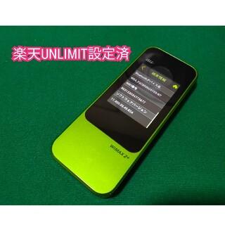HUAWEI - 【楽天UN-LIMIT設定済】Speed Wi-Fi NEXT W04 AU版