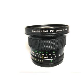 Canon - キヤノン New FD 20mm F2.8