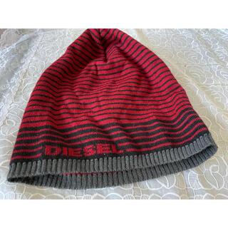 ディーゼル(DIESEL)の未使用ディーゼルニット帽(ニット帽/ビーニー)