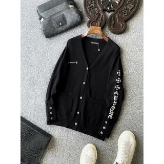 クロムハーツ(Chrome Hearts)の[新作クロムハーツ]   カーディガンのセーター   C-10008(棚/ラック/タンス)