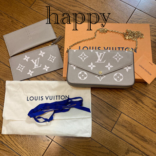 LOUIS VUITTON - ルイヴィトン♡フェリシー ポシェット チェーンウォレット