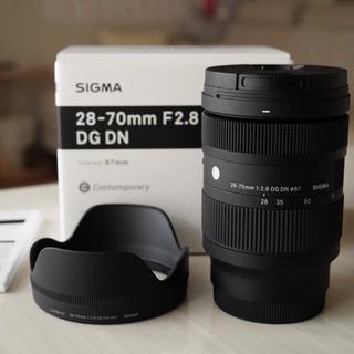 シグマ(SIGMA)のSIGMA 28-70mm F2.8 DG DN Contemporary(レンズ(ズーム))