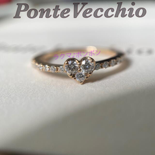 PonteVecchio - ポンテヴェキオ PonteVecchio K18PG ダイヤモンドリンク 指輪