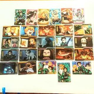 BANDAI - 鬼滅の刃 ウエハース 4 カード 28枚 セット