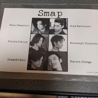 スマップ(SMAP)のSMAP 6人体制時 カード 紙製 ブロマイド CD購入特典グッズ(アイドルグッズ)