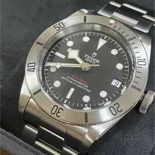 チュードル(Tudor)のチューダー(チュードル) TUDOR ブラックベイ 79730 ブラック文字盤 (腕時計(アナログ))