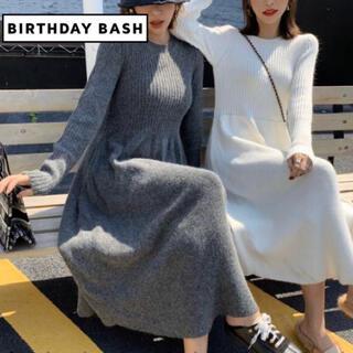 ZARA - BIRTHDAY BASH ★ アンゴラ混 ニット ワンピース