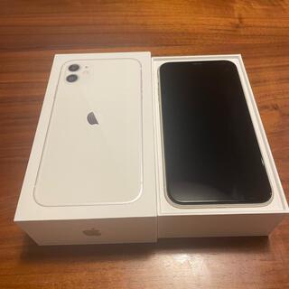 Apple - アップル iPhone11 64GB ホワイトSIMフリー 超美品