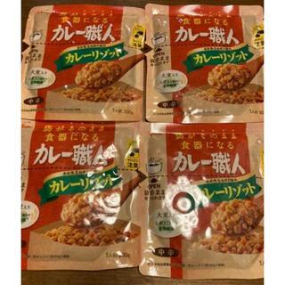 グリコ(グリコ)のグリコ カレー職人 カレーリゾット 200g×4袋(レトルト食品)
