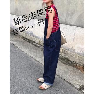 TODAYFUL - 匿名発送【via j】ツイルデニムサロペット