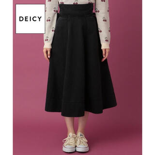 デイシー(deicy)のDEICY ★ デニムレースアップスカート(ひざ丈スカート)