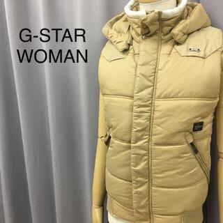 パタゴニア(patagonia)のG-STAR WOMAN RDW 中綿ベスト フーディ(ダウンジャケット)