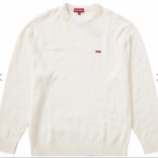 Supreme - ★20AW Supreme Textured Small Box Sweater