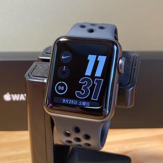 Apple Watch - APPLE WATCH3 NIKE+ 38 アップルウォッチ3 ナイキ