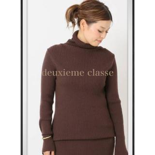 DEUXIEME CLASSE - Deuxieme Classe   リブタートルネックプルオーバー