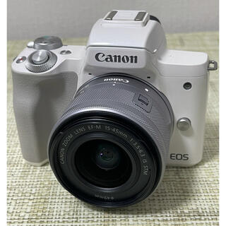 Canon - Canon EOS kiss MズームレンズキットWI-FI&Bluetooth