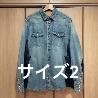 sacai - サイズ 2 21ss sacai Denim Shirt サカイ デニム シャツ