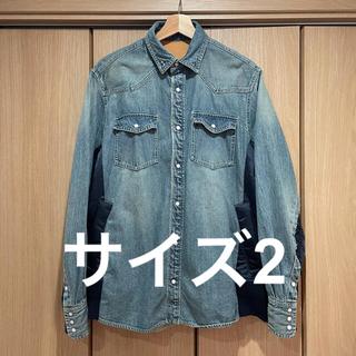 サカイ(sacai)のサイズ 2 21ss sacai Denim Shirt サカイ デニム シャツ(Gジャン/デニムジャケット)