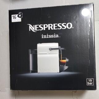 Nespresso Inissia(イニッシア) C40WH (ホワイト)