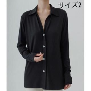 EDIT.FOR LULU - (定価) yo BIOTOP Silk jersey collarshirt