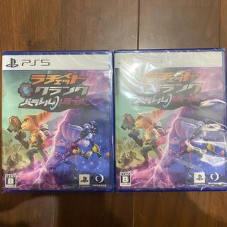 プレイステーション(PlayStation)の2本 ラチェット&クランク パラレル・トラブル PS5 シュリンク付き(家庭用ゲームソフト)