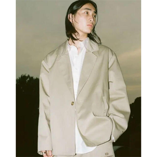 black eye patch tailored jacket sulvam