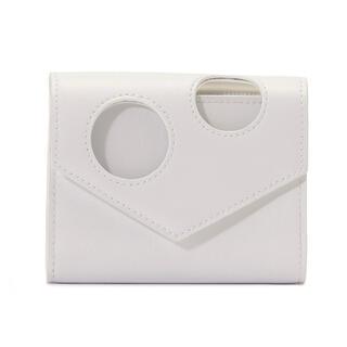 オフホワイト(OFF-WHITE)のoff-white/hole small wallet/新品未使用(財布)