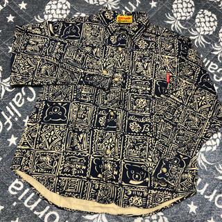 ミキハウス(mikihouse)のミキハウス  ダブルB 総柄シャツ  120サイズ(ブラウス)