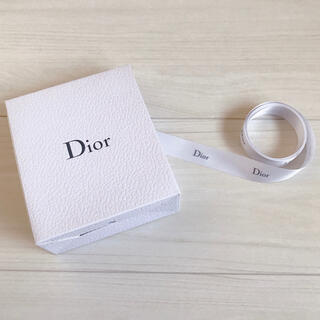 Christian Dior - 【Dior】ギフトボックス (空箱) &リボン