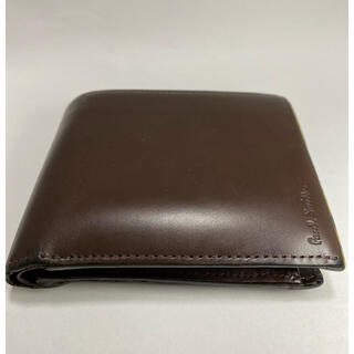 ポールスミス(Paul Smith)の[値下げ]ポールスミス 折り財布(ブラウン)(折り財布)