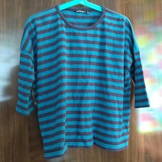 マリメッコ(marimekko)のマリメッコ marimekko 縞シャツ(Tシャツ/カットソー)