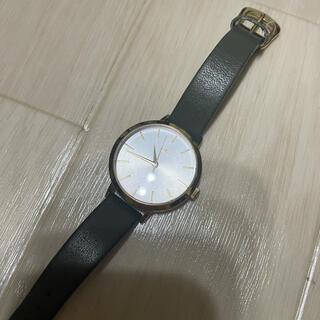 ete - ete カーキ 時計 腕時計 丸