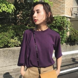 Ameri VINTAGE - アメリヴィンテージ 変形Tシャツ りぼ