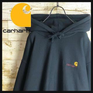 carhartt - 即完売 carhartt WIP カーハート パーカー ワンポイント刺繍 美品