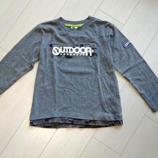 アウトドア(OUTDOOR)のアウトドア 長袖カットソー 男の子 140cm(Tシャツ/カットソー)