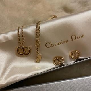 Christian Dior - Christian Dior ネックレス&イヤリングセット 超美品