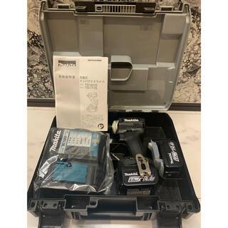 マキタ(Makita)の最安値 純正品マキタ インパクトドライバ(14.4V)黒 6Ahバッテリ2本(工具/メンテナンス)