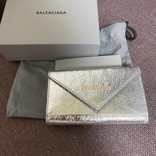 バレンシアガ(Balenciaga)の新品 バレンシアガ BALENCIAGA key case キーケース シルバー(キーケース)