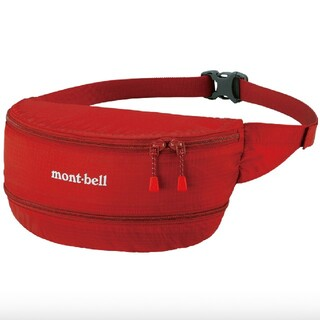 mont bell - 【美品】モンベル mont-bell ウエストポーチ ボディバッグ