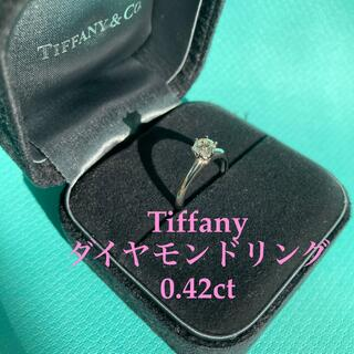 Tiffany & Co. - 【定価約70万】ティファニー 0.42ct 3EX ダイヤ リング 婚約指輪
