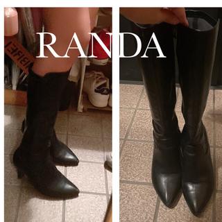 RANDA - RANDA ロングブーツ