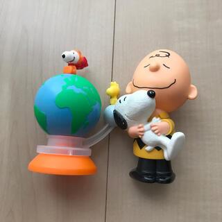 マクドナルド(マクドナルド)のハッピーセット スヌーピー フィギュア 2個セット♡(キャラクターグッズ)