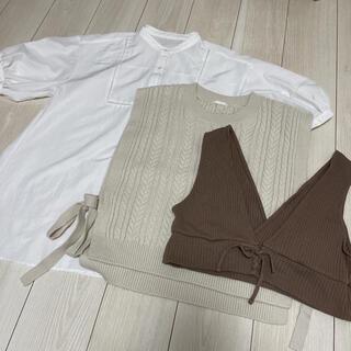 GU - GU トップス set