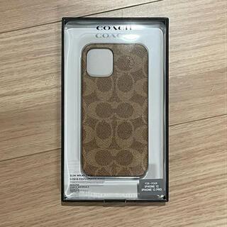 コーチ(COACH)の【新品未使用】COACH iPhone12Pro/12 Slim Wrap(iPhoneケース)